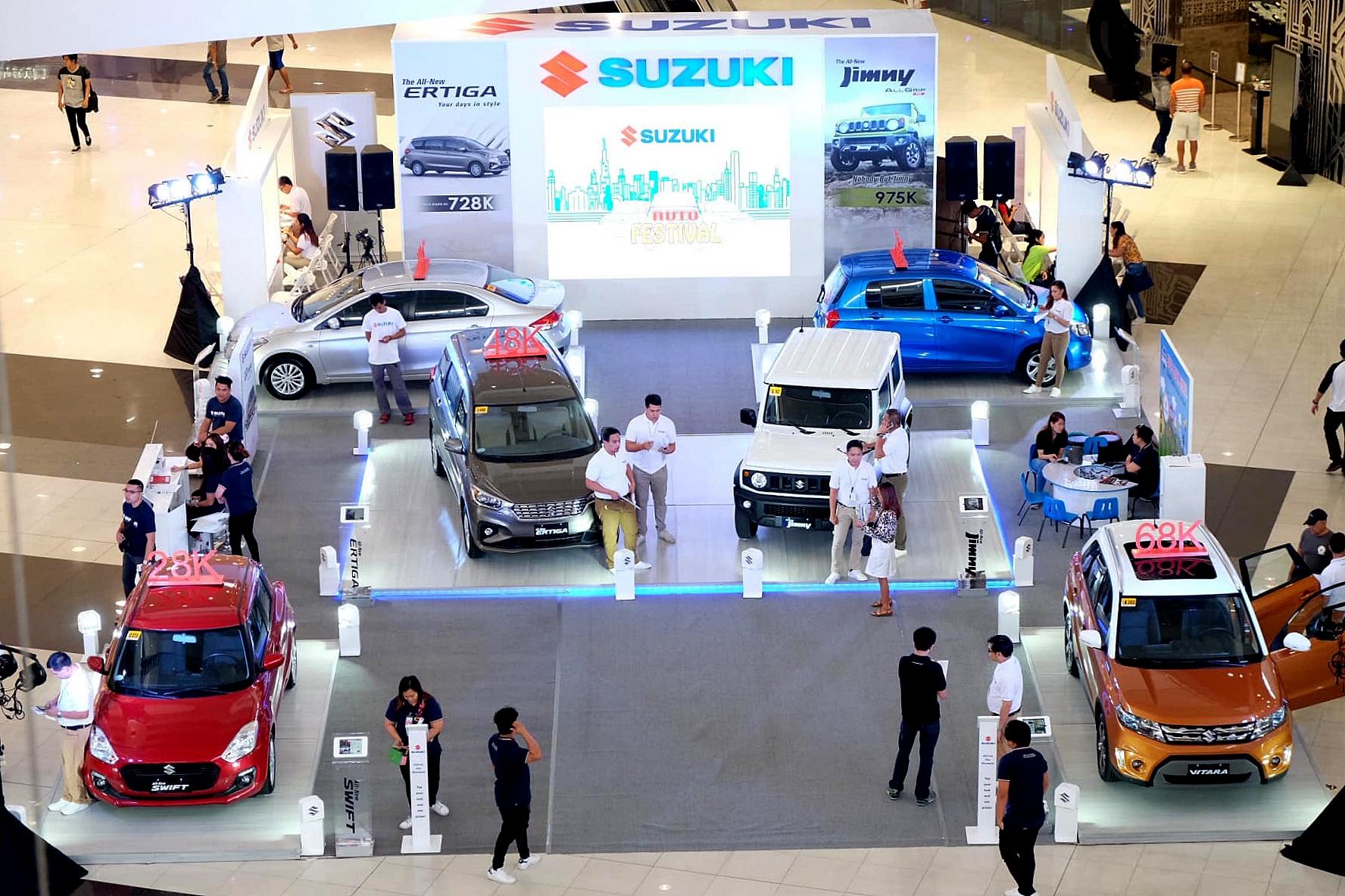 Suzuki Philippines' Auto Fest 2019 comes to an SM Mall near you